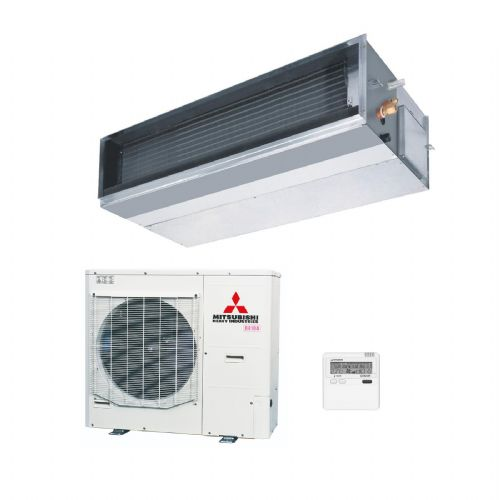 Mitsubishi Heavy Industries Air Conditioning FDUM140VF1 Ducted 14Kw/48000Btu Heat Pump Inverter 240V/415V~50Hz